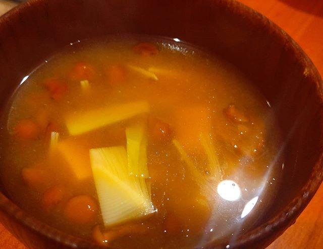 筍姫の味噌汁