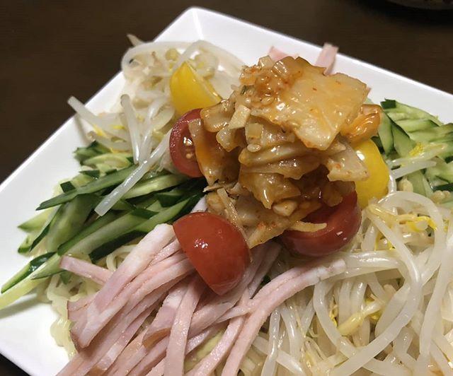 冷し中華の筍姫メンマのせ写真を送って頂きました。うまそ~🤤 #筍姫 #メンマ #冷し中華 #阿波たけのこ農園 #国産 #国産メンマ #タケノコ #タケノコレシピ #japan #tokushima #地産地消 #国産タケノコを食べよう