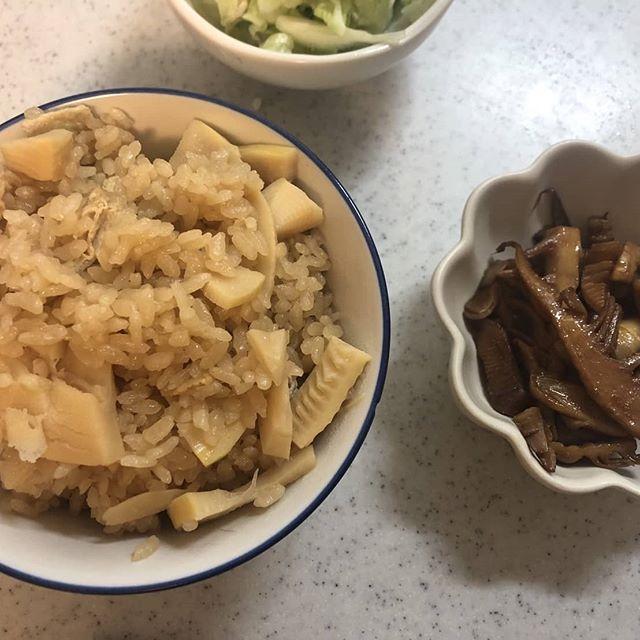筍ごはん&筍姫のバターソテー