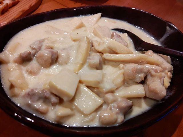 筍姫と鶏のミルクグリーンカレー