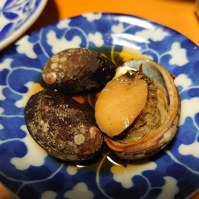 徳島グルメ  トコブシながれことも言われるみたいですねアワビの仲間で煮付けると最高のおつまみに️ 海の恵みに感謝海につながる山や里をきれいにしていこう🌲#トコブシ #阿波たけのこ農園 #海の恵み