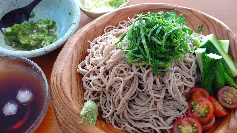麺と野菜がおいしい夏♪