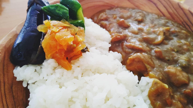 新米×熟成カレー×野菜漬
