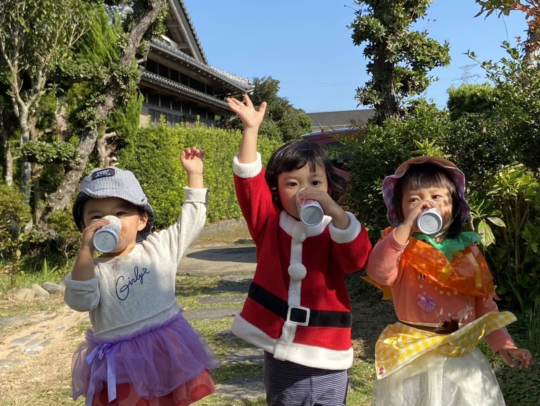 筍姫たちクリスマスが待ち遠しい#阿波たけのこ農園 #筍姫 #クリスマス #cristmas #サンタ #santa