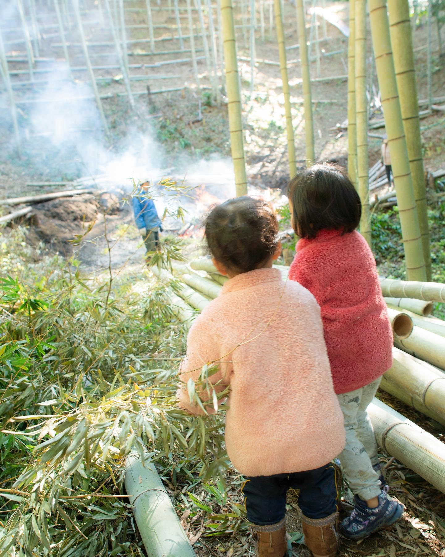 竹焼くの見守り隊