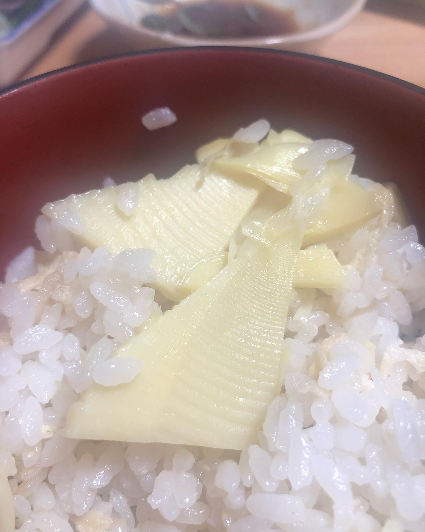 たけのこごはんやっぱり美味しいやつ#たけのこご飯 #たけのこ料理 #筍姫#阿波たけのこ農園#米も自家製#おいしいよ
