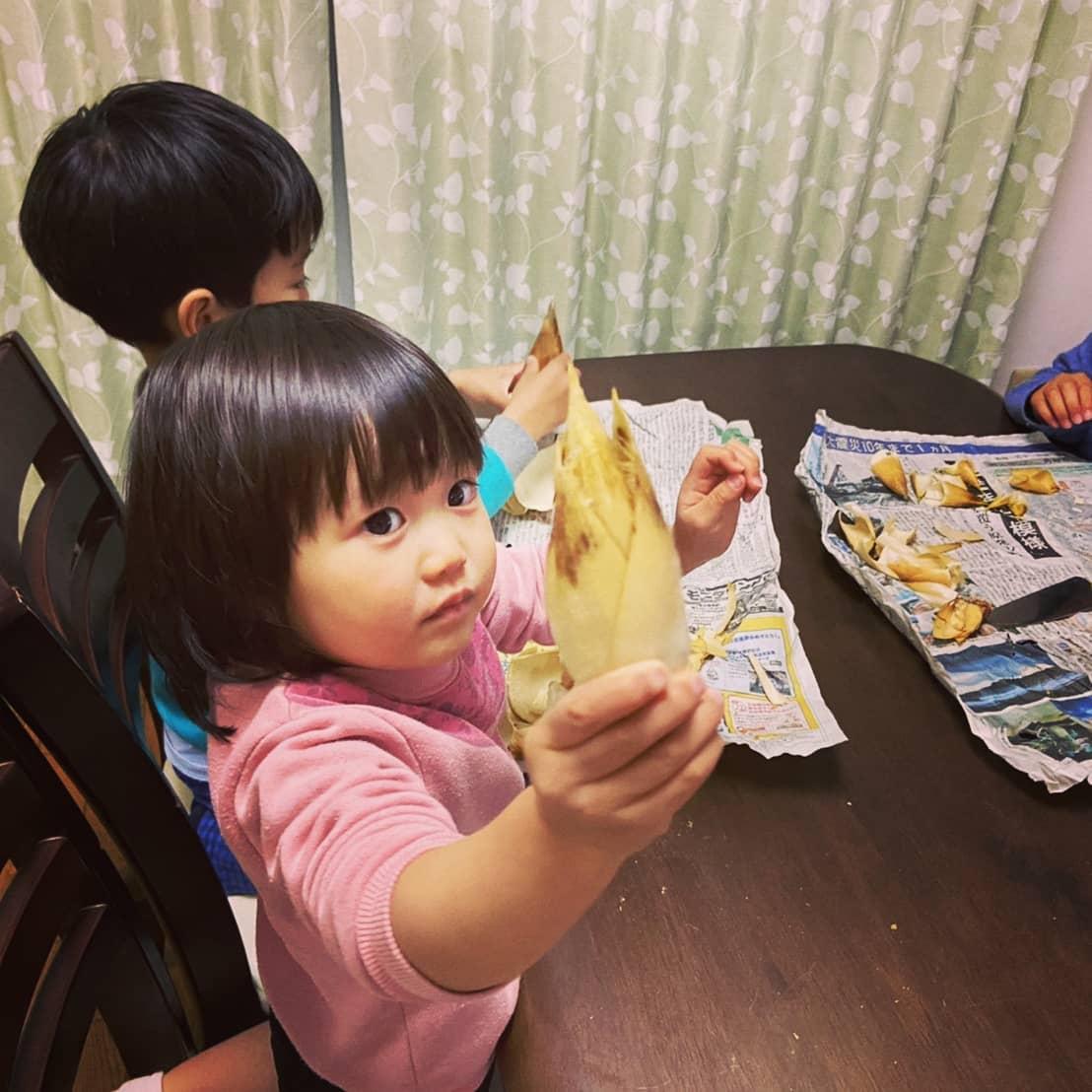 This is Takenokohime.これは筍姫です#阿波たけのこ農園 #筍姫 #たけのこ